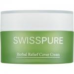 Фото Swisspure Herbal Relief Cover Cream - Крем дневной для чувствительной кожи с растительными экстрактами, 30 мл