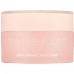 Фото Swisspure Rosy Relief Cover Cream - Защитный крем улучшающий тон лица, 30 мл