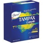 Фото Tampax Compak Regular - Тампоны с аппликатором, 8 шт
