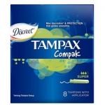 Фото Tampax Compak Super - Тампоны с аппликатором, 8 шт