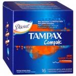 Фото Tampax Compak Super Plus Duo - Тампоны с аппликатором, 16 шт