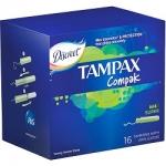 Фото Tampax Compak Super - Тампоны с аппликатором, 16 шт