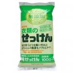 Фото Miyoshi - Жидкое средство для стирки основе натуральных компонентов, для изделий из хлопка, мягкая упаковка, 1000 мл