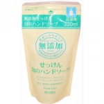 Фото Miyoshi - Пенящееся жидкое мыло для рук на основе натуральных компонентов, запасной блок, 220 мл