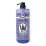 Фото Junlove - Растительный шампунь для волос с расслабляющим эффектом, с маслом лаванды, 1000 мл