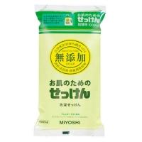Miyoshi - Жидкое средство для стирки основе натуральных компонентов, для изделий из хлопка, запасной блок, 1000 мл