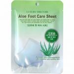 Фото Co Arang Aloe Foot Care Sheet - Маска для ног с экстрактом алоэ, 2х8 мл