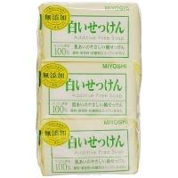 Miyoshi - Туалетное мыло на основе натуральных компонентов, 108 г*3