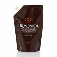 Ormonica - Органический шампунь для ухода за волосами и кожей головы, запасной блок, 400 мл