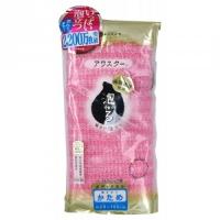 Kukilon - Мочалка массажная жесткая, розовая