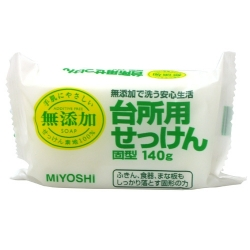 Фото Miyoshi - Мыло для стирки и применения на кухне, на основе натуральных компонентов, 140 г