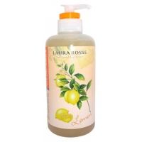 Купить Laura Rosse - Жидкое мыло для тела, Ароматерапия-Лимон, 500 мл