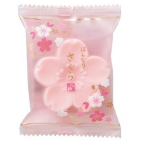 Master Soap - Мыло туалетное косметическое, Цветок, светло-розовый, 43 г