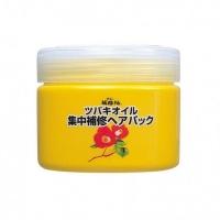 Kurobara - Маска интенсивно восстанавливающая для поврежденных волос с маслом камелии японской, 300 г