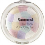 Фото The Saem Saemmul Luminous Multi Highlighter Pink White - Хайлайтер минеральный, тон 01, 8 гр
