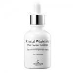 Фото The Skin House Crystal Whitening Plus Booster Ampoule - Сыворотка концентрированная осветляющая, против пигментации, 30 мл