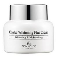 The Skin House Crystal Whitening Plus Cream - Крем осветляющий против пигментации кожи лица, 50 г