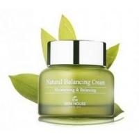 The Skin House Natural Balancing Cream - Крем балансирующий и увлажняющий, с экстрактом алое вера, 50 мл