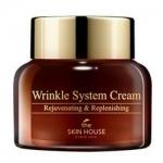 Фото The Skin House Wrinkle System Cream - Крем анти-возрастной питательный, с коллагеном, 50 мл