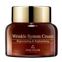 The Skin House Wrinkle System Cream - Крем анти-возрастной питательный, с коллагеном, 50 мл
