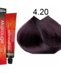 Фото Loreal Professionnel Majirel - Краска для волос, тон 4.20, 50 мл