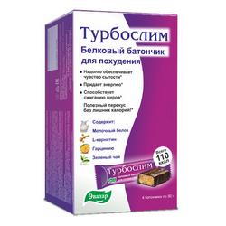 Фото Турбослим - Батончик для похудения, 50 г*4 шт.