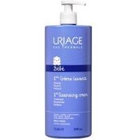 Купить Uriage 1ers Soins Bebe Creme Lavante - Очищающий пенящийся крем для детей и новорожденных, 1 л