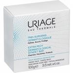 Фото Uriage Extra-Rich Dermatological Syndet Bar - Мыло обогащенное, дерматологическое, очищающее, 100 г