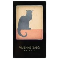 Vivienne Sabo Trio Eyeshadow Chat Noir - Тени для век тройные