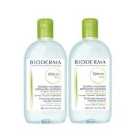 Bioderma Sebium Solution Micellaire - Очищающая вода, 2х500 мл