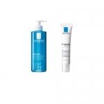 Фото La Roche Posay - Комплект Effaclar ДУО[+] корректирующий крем-гель для проблемной кожи, 40 мл + Effaclar очищающий гель, 400 мл