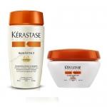 Фото Kerastase Nutritive - Комплект: Шампунь - Ванна САТИН 2 + Маска для сухих и чувствительных волос, 250 мл + 200 мл