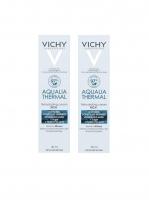 Vichy - Комплект: Аквалия Термаль Насыщенный крем для сухой и очень сухой кожи, 2 шт. по 30 мл, 1 шт