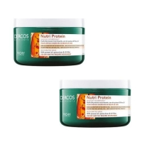 Vichy - Комплект: Восстанавливающая маска Nutri Protein, 2 шт. по 250 мл, 1 шт