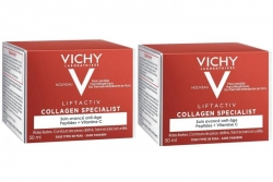 Фото Vichy - Комплект: Лифтактив Коллаген дневной крем-уход , Специалист, 2 шт. по 50 мл, 1 шт