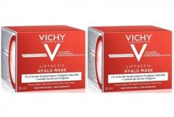 Фото Vichy - Комплект: Лифтактив Гиалуроновая экспресс-маска для лица, 2 шт. по 50 мл, 1 шт