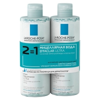 La Roche Posay Мицеллярная вода Effaclar Ultra 400 мл х 2 шт.