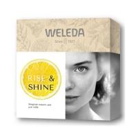 Weleda Подарочный набор RIise  Shine: Цитрусовый освежающий гель для душа 200 мл + Облепиховый питательный крем для рук 50 мл + Цитрусовое освежающее масло для тела 10 мл