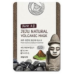 Фото Welcos Jeju Natural Volcanic Mask Pore Care & Sebum Control - Маска для лица очищающая поры, 20 мл
