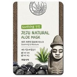 Фото Welcos Jeju Nature's Aloe Mask - Маска для лица увлажняющая, 20 мл