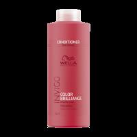 Купить Wella Invigo Brilliance Line - Бальзам для окрашенных нормальных и тонких волос 1000 мл, Wella Professionals