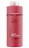 Купить Wella Invigo Brilliance Line - Бальзам для окрашенных жестких волос 1000 мл, Wella Professionals