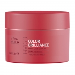 Фото Wella Invigo Brilliance Line - Крем-маска для окрашенных нормальных и тонких волос 150 мл