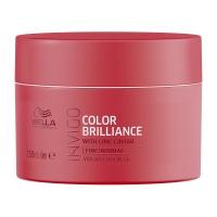 Купить Wella Invigo Brilliance Line - Крем-маска для окрашенных нормальных и тонких волос 150 мл, Wella Professionals