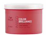 Фото Wella Professionals Invigo Color Brilliance Line - Маска-уход для защиты цвета окрашенных тонких и нормальных волос, 500 мл