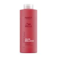 Купить Wella Invigo Brilliance Line - Шампунь для окрашенных нормальных и тонких волос 1000 мл, Wella Professionals