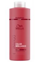 Купить Wella Invigo Brilliance Line - Шампунь для окрашенных жестких волос 1000 мл, Wella Professionals
