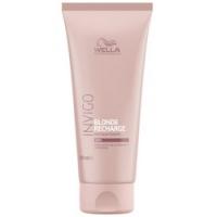 Купить Wella Invigo Blonde Recharge Cool - Бальзам-уход оттеночный для холодных светлых оттенков, 200 мл, Wella Professionals
