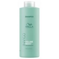 Wella Volume Boost Shampoo - Шампунь для придания объема с экстрактом хлопка, 1000 мл