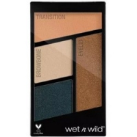 Wet-n-Wild Color Icon Eyeshadow Quad Hooked on Vinyl - Палетка теней для век, 4 оттенка, тон E343b, 4,5 г